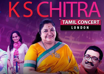 K. S. Chithra in London